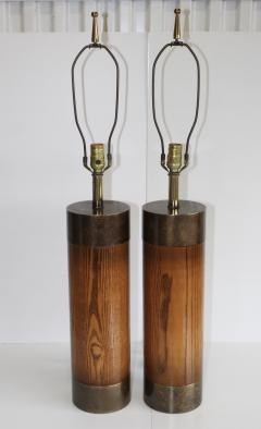 Westwood Industries Westwood Bronze And walnut Large Table Lamps - 767429