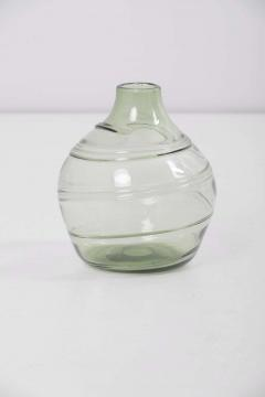 Whitefriars Set of 5 Ribbon Trailed Glass Vases and Bowls by Barnaby Powell for Whitefriars - 1247519