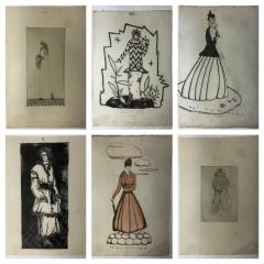 Wiener Werkst tte Mode Wein 1914 15 12 Wiener Werkst tte Fashion Wood Cuts - 1571347