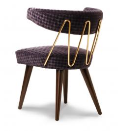 William Haines Inc Drum Dining Chair - 1940960