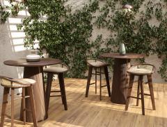 Wood Tailors Club Brummell BAR STOOL - 1712902