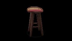 Wood Tailors Club Brummell BAR STOOL - 1712903
