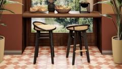 Wood Tailors Club Brummell BAR STOOL - 1712905