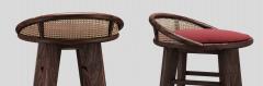 Wood Tailors Club Brummell BAR STOOL - 1712907