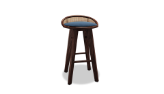 Wood Tailors Club Brummell BAR STOOL - 1712913