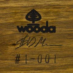 Wooda Pilot Lounge Chair and Ottoman designed for Wooda by Scott Mason - 1081335