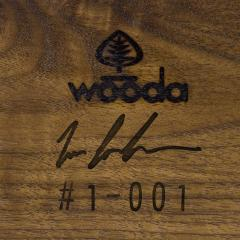 Wooda Repose Table in Walnut designed for Wooda by Zac Feltoon - 1082280