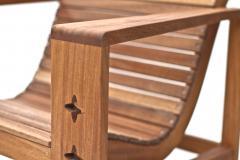 Wooda Uti Chair in Mahogany an Original Wooda Design - 1083238