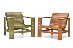 Wooda Uti Chair in Mahogany an Original Wooda Design - 1083239