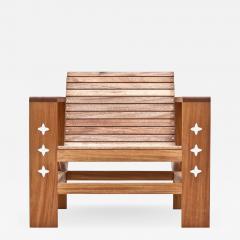 Wooda Uti Chair in Mahogany an Original Wooda Design - 1084196
