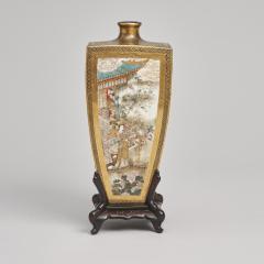 Yasuda Company A Japanese Meiji Period Satsuma Vase - 1368891