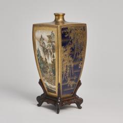 Yasuda Company A Japanese Meiji Period Satsuma Vase - 1368892