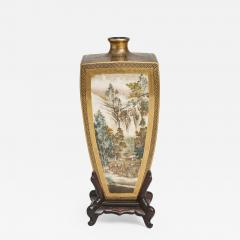 Yasuda Company A Japanese Meiji Period Satsuma Vase - 1369952