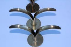 Ystad Metall Set of Eight Swedish Brass Candleholders By Ystad Metall - 870722