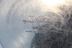 Ystad Metall Set of Eight Swedish Brass Candleholders By Ystad Metall - 870724