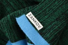 ZANKOV ZANKOV Extra Thick Cashmere Throw 100 Cashmere - 1148523