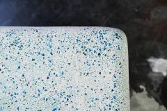 Zachary A Design 78 Cascade Dining Table in Moonstone Lightweight Terrazzo - 1782161