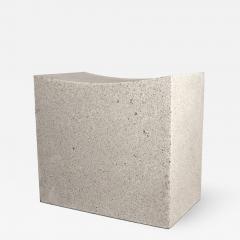 Zachary A Design Mason Cut Stool - 1965988