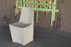 Zachary A Design Stone Dining Chair - 2040545
