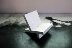 Zachary A Design Wavebreaker Seat in Tourmaline Lightweight Terrazzo - 1788737