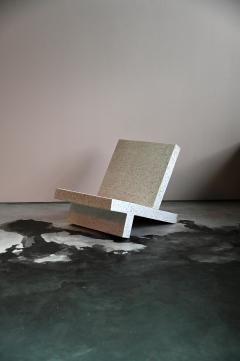 Zachary A Design Wavebreaker Seat in Tourmaline Lightweight Terrazzo - 1788741