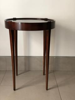 Zangerle Peterson Zangerle Peterson Chicago Pair of Round Tables Signed - 652667