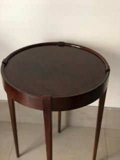 Zangerle Peterson Zangerle Peterson Chicago Pair of Round Tables Signed - 652668