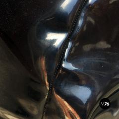 Zanotta Black plastic anatomic chair by Gatti Paolini and Teodoro for Zanotta 1968 - 1968513