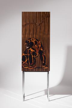 Zelouf Bell Furniture Makers JAGUAR AND THE CROW COCKTAIL CABINET - 1603324