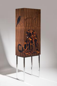 Zelouf Bell Furniture Makers JAGUAR AND THE CROW COCKTAIL CABINET - 1603325