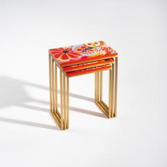 Zelouf Bell Furniture Makers KIKU NESTING TABLES - 1709985