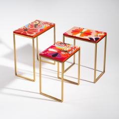 Zelouf Bell Furniture Makers KIKU NESTING TABLES - 1709987
