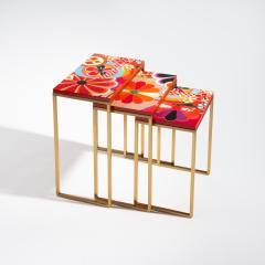 Zelouf Bell Furniture Makers KIKU NESTING TABLES - 1709988