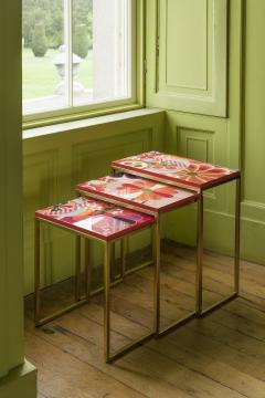 Zelouf Bell Furniture Makers KIKU NESTING TABLES - 1709990