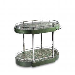 Zelouf Bell Furniture Makers Serpents Bar Cart - 1606631