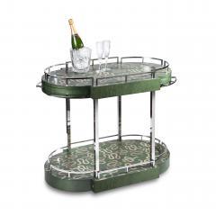 Zelouf Bell Furniture Makers Serpents Bar Cart - 1606632