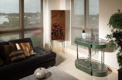 Zelouf Bell Furniture Makers Serpents Bar Cart - 1606633