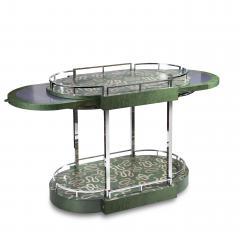 Zelouf Bell Furniture Makers Serpents Bar Cart - 1606635