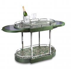 Zelouf Bell Furniture Makers Serpents Bar Cart - 1606636