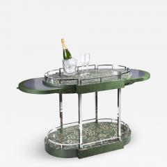 Zelouf Bell Furniture Makers Serpents Bar Cart - 1607305