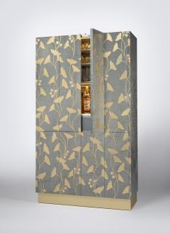 Zelouf and Bell Furniture Makers Ginkgo Cocktail cum Games Cabinet - 1556088
