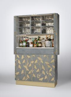 Zelouf and Bell Furniture Makers Ginkgo Cocktail cum Games Cabinet - 1556090