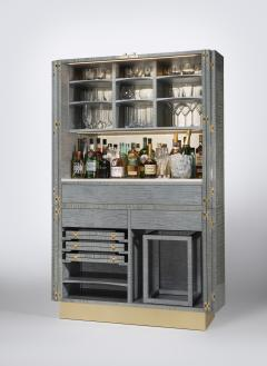 Zelouf and Bell Furniture Makers Ginkgo Cocktail cum Games Cabinet - 1556092