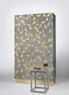 Zelouf and Bell Furniture Makers Ginkgo Cocktail cum Games Cabinet - 1556093
