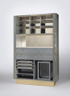 Zelouf and Bell Furniture Makers Ginkgo Cocktail cum Games Cabinet - 1556103