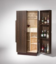 Zelouf and Bell Furniture Makers Stellad Cocktail Cabinet available through Maison Gerard - 1554897