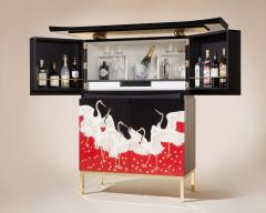 Zelouf and Bell Furniture Makers Torii Bar - 1553918