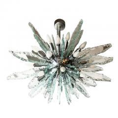 ZeroQuattro Chiseled Glass Sputnik Chandelier by ZeroQuattro - 1129253