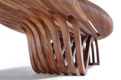 Zimmerman Workshop Ottra Elliptical Coffee Table - 624592