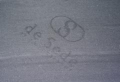 de Sede Black Two Seat Leather Sofa by De Sede Switzerland - 1709634